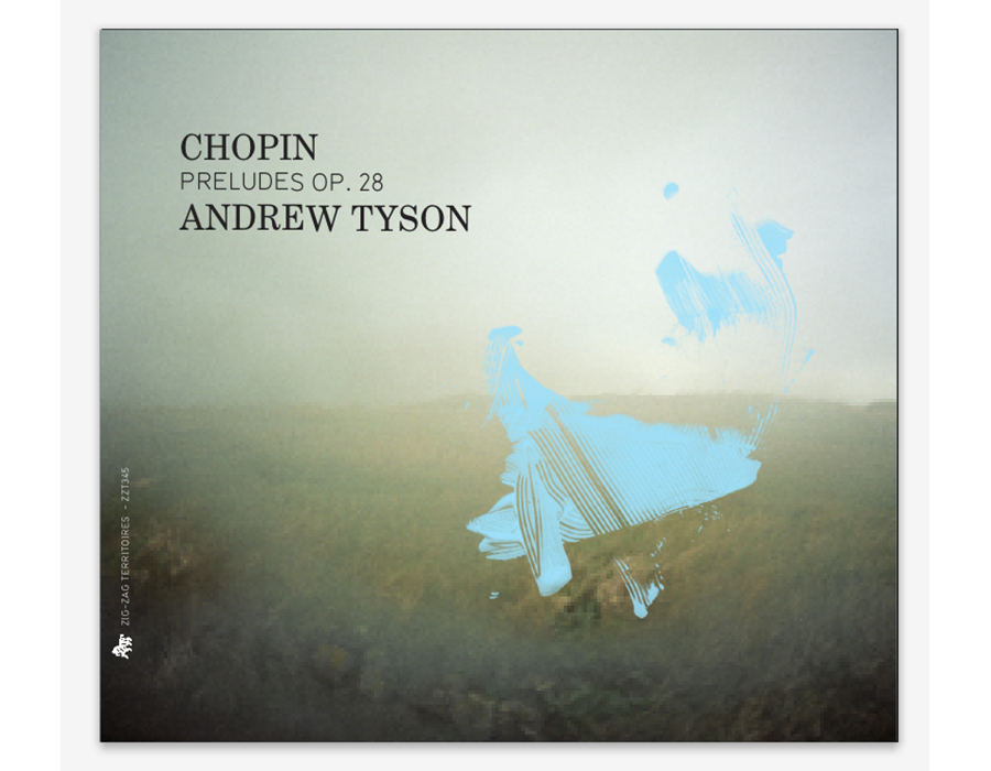 Couverture de « Chopin Preludes OP.28 » Andrew Tyson