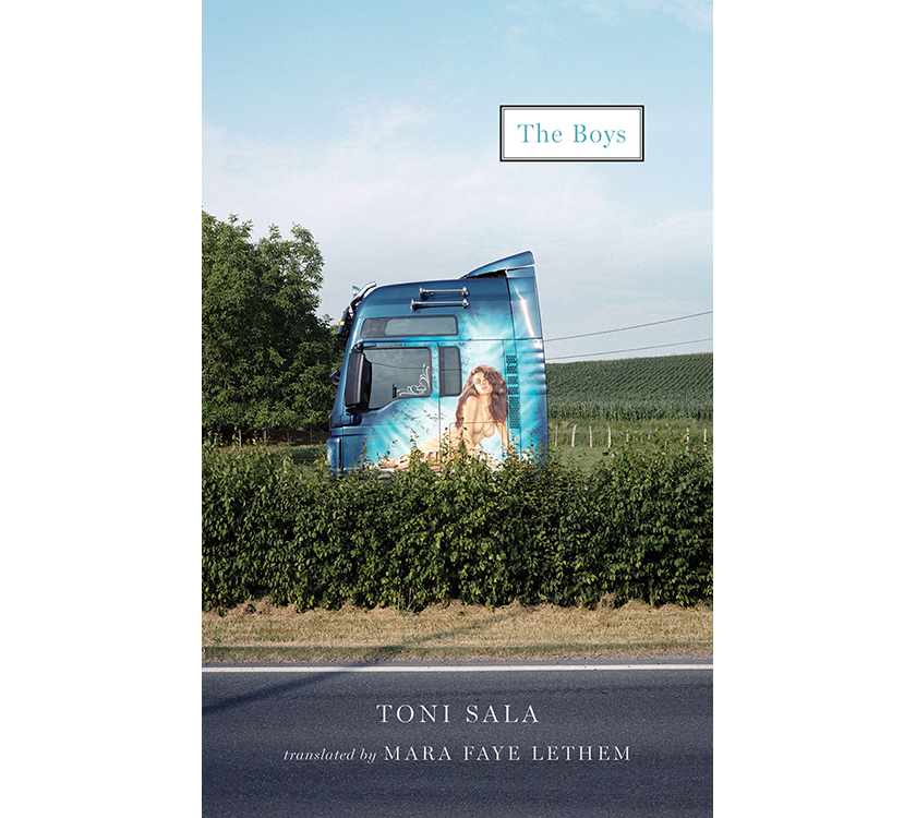Couverture de « The boy's » de Tony Sala